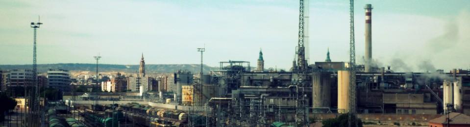 Zaragoza en la novela